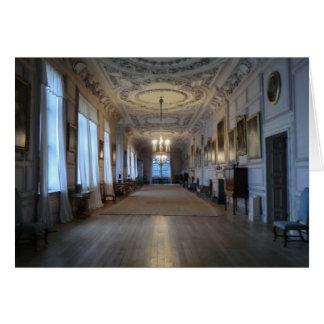 Die lange Galerie bei Sudbury Hall, Derbyshire Karte