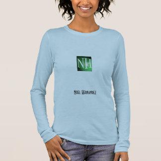 die lange Hülse der Frau, Weihnachten Hernandez Langarm T-Shirt