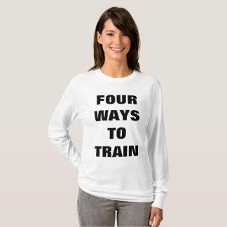 Die lange Hülse der Frauen der FITNESS 41 T-Shirt