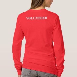 Die lange Hülse der Frauen (kleines Emblem) T-Shirt