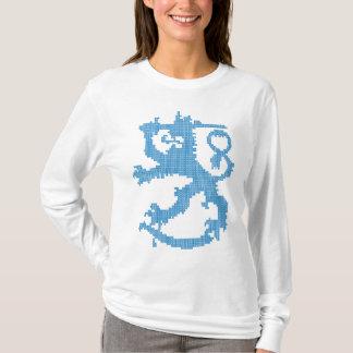 Die lange Hülse der Sisu Löwe-Frauen T-Shirt