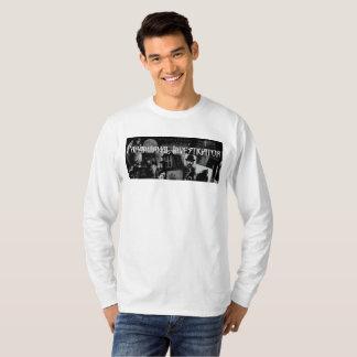 Die lange Hülse T der Paranormal Forscher-Männer T-Shirt