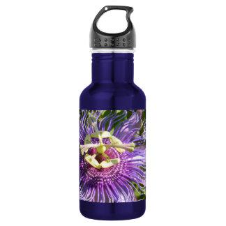Die Leidenschafts-Blume Edelstahlflasche