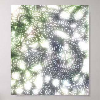Die Leinwand des Wicklungs-Wurm-A3 Poster