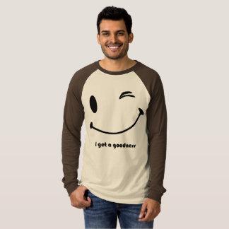 Die Leinwand-langer Hülseraglan-T - Shirt der