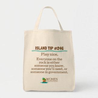 Die Leinwand-Öko-Tasche #246 des