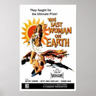 """""""Die letzte Frau auf Erde"""" Plakat"""