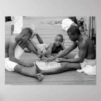Die Leute von Ghana (7) - Plakat