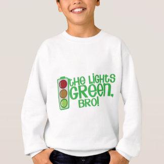Die Lichter GRÜNES Bro! Kiwi Neuseeland lustig Sweatshirt