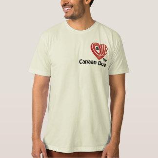 Die Liebe der T - Shirt-Männer mein Canaan Hund T-Shirt