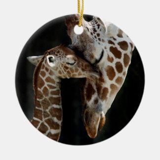 Die Liebe einer Mutter Keramik Ornament
