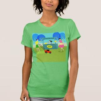 Die Limonade-Stand-T - Shirt der Retro Kinder
