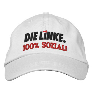 Die Linke verlassenes Party Deutschland Baseballmütze