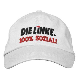 Die Linke verlassenes Party Deutschland Bestickte Kappe