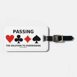 Die Lösung zu Overbidding führen (Brücke) Adress Schild