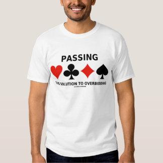 Die Lösung zu Overbidding führen (Brücke) Tshirt