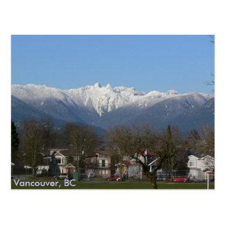 Die Löwen - Vancouver, BC Postkarte
