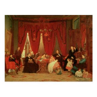 Die Luken-Familie, 1870-71 Postkarte