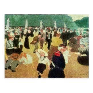 Die Luxemburg-Gärten, 1895 Postkarte