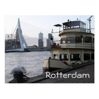 Die Maas, Rotterdam Postkarte