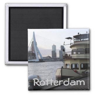Die Maas, Rotterdam Quadratischer Magnet