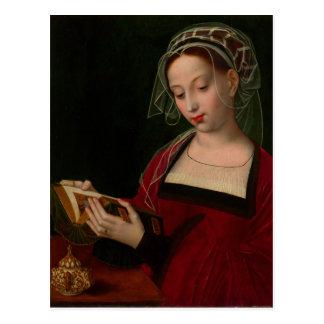 Die Magdalen Lesung durch Ambrosius Benson Postkarte