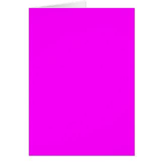 die magentarote lila zu personifizieren Schablone Grußkarte