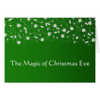 Die Magie von Weihnachten - Weihnachtskarte Karte