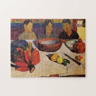 """""""Die Mahlzeit"""" - Paul Gauguin Puzzle"""