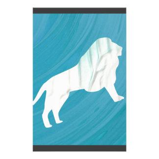 Die Majestät 1 des Löwes [gerahmt] Briefpapier