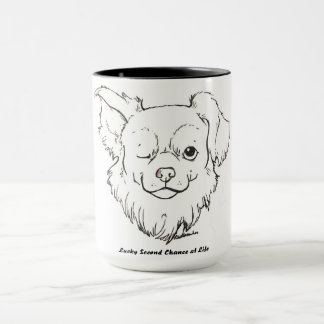 Die malende glückliche Kaffee-Tasse Fox Tasse