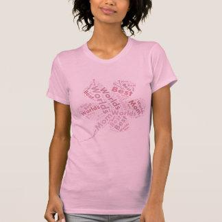 Die Mamma-Rosa-Blume der Welt beste - T - Shirt