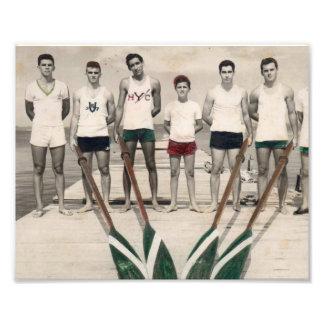 Die Männer des Havana-Yachtclubs Kunstphoto