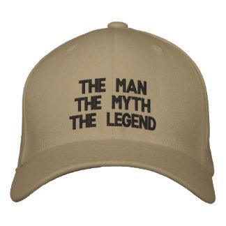 Die ManThe MythThe Legende Bestickte Baseballkappe