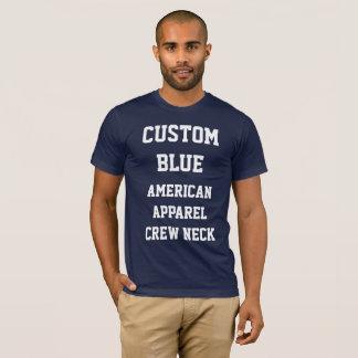 Die MARINE-BLAU-AMERIKANISCHER KLEIDERT - Shirt