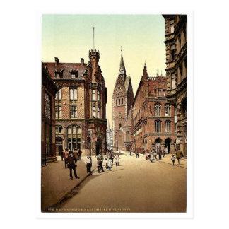 Die Markt-Kirche, Hannover, Hannover, Deutschland Postkarte
