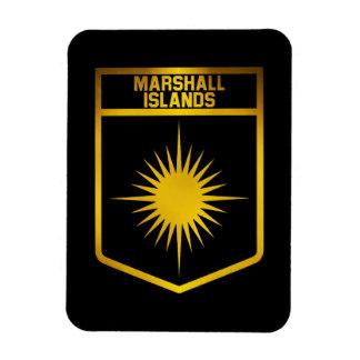 Die Marshallinseln-Emblem Magnet