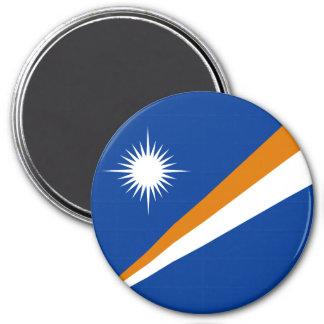 Die Marshallinseln-Flagge Runder Magnet 7,6 Cm