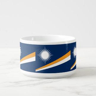 Die Marshallinseln-Flagge Schüssel