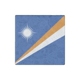 Die Marshallinseln-Flagge Steinmagnet