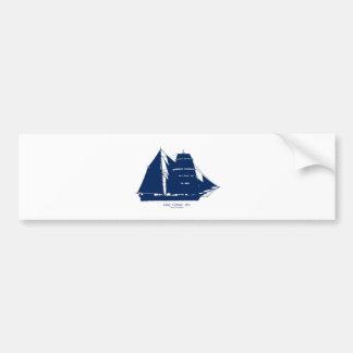 Die Mary Celeste 1872 durch tony fernandes Autoaufkleber