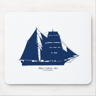 Die Mary Celeste 1872 durch tony fernandes Mousepad
