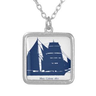 Die Mary Celeste 1872 durch tony fernandes Versilberte Kette