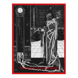 Die Maske des roten Todes Postkarte