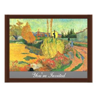 Die Masse von Arles durch Gauguin Paul beste Individuelle Einladungen