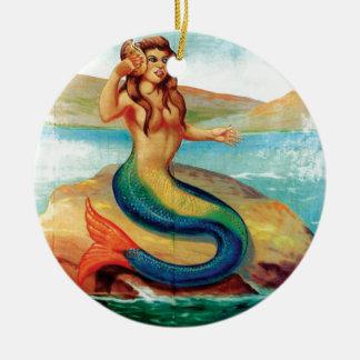 Die Meerjungfrau Keramik Ornament