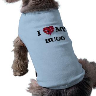 Die meine Liebe I hören auch Ärmelfreies Hunde-Shirt