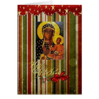 Die meiste heilige Weihnachtskarte Karte