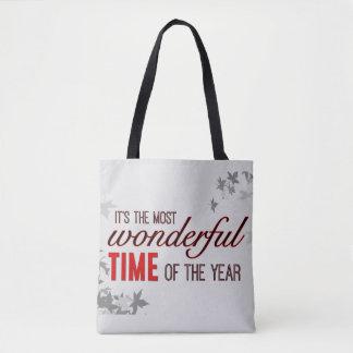 Die meiste wunderbare Zeit des Jahres Tasche