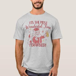 Die meiste wunderbare Zeit für ein Bier Sankt T-Shirt